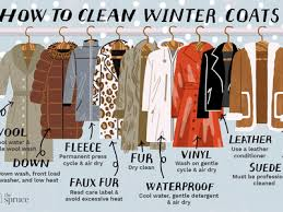 how to clean 9 types of winter coats