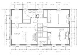 floor plan second story plans