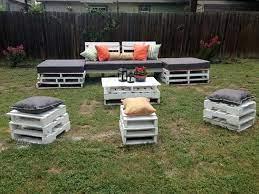 diy pallet garden furniture plans