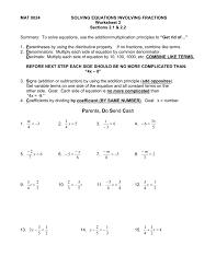 solving equations involving kindergarten 24 equations with fractions worksheet pre algebra worksheets solving equations involving