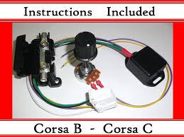 corsa b c kit electric power steering controller box corsa b c kit electric power steering controller box ecu plug epas