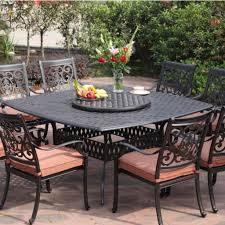black wrought iron patio furniture with