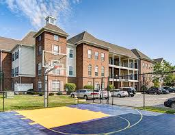 View Of The Basketball Court At Olde Towne University Square.