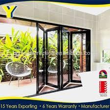 accordion patio doors. Aluminium Sound Proof Accordion Patio Door / Exterior Folding Doors /lowes Bi Fold
