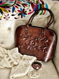 tooled leather purse leather purse bohemian purse real leather handbag carved purse bohemian bag vintage style bag hand tooled bag