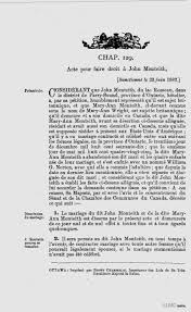Actes De Divorce 1841 1968 Biblioth Que Et Archives Canada