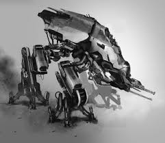 Futuristic Concepts Concept Robots Concept Robot By Paul Chadeisson