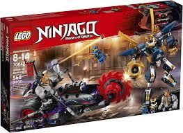 Amazon.com: LEGO NINJAGO Killow vs. Samurai X 70642 Building Kit (556  Piece): Toys & Games