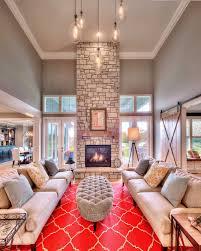 Open Stone Fireplace Hearthroom Floor To Ceiling Fireplace Stone Fireplace Large