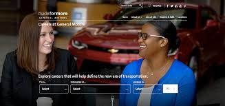here are some of the key features of the gm career site