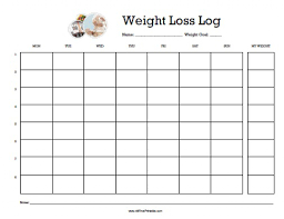 Weight Loss Calendar Printable Monthly Weight Loss Calendar Monthly Calendar 2019