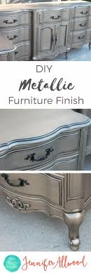 painted furniture makeover gold metallic. Give Your Dresser A Shiny Silver Finish Painted Furniture Makeover Gold Metallic