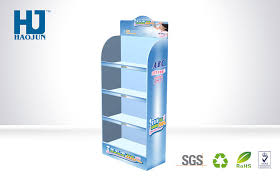 Promotional Stands Displays Best Supermarket Retail Cardboard Display Stand For Comestic Promotion