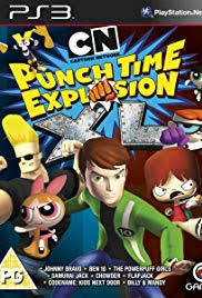 cartoon network punch time explosion poster