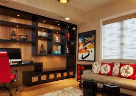 Japanese Style Living Room Furniture Decorations Modern Japanese Interior Design With Brown Wall And