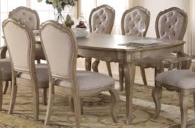 Rubberwood Kitchen Table Chelmsford Antique Taupe Rubberwood Dining Table Kitchen Dining
