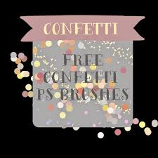 Confetti Brush Photoshop Free Confetti Photoshop Brushes Dlolleyshelp