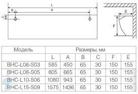 <b>Тепловая завеса BALLU</b> S2-M <b>BHC</b>-<b>L15</b>-<b>S09</b>-<b>M</b> (150х1570х155 ...