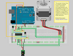 connecting a stepper to arduino innovation en action circuit for unipolar stepper motor two wire control