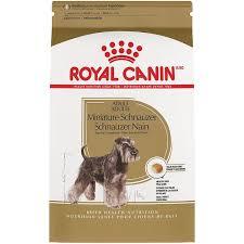 <b>Royal Canin Miniature Schnauzer</b> Adult Dry Dog Food, 10-lb bag ...
