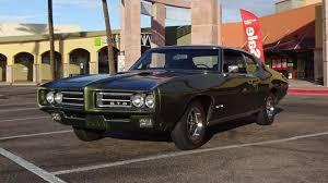1969 Pontiac GTO in Verdoro Green Paint & Ram Air IV Engine Sound ...