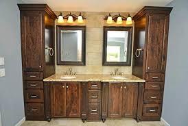 semi custom bathroom cabinets. Custom Bathroom Vanity Cabinets \u2013 Bsdhound Semi Vanities P