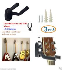 wall mount guitar hanger