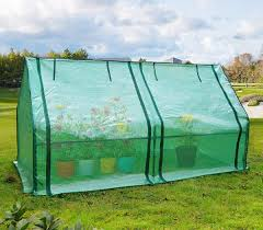 Portable Greenhouse With Grow Lights Quictent Upgraded Large Door Portable Mini Greenhouse Green