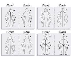Cloak Sewing Pattern Interesting Butterick 48 Cloak