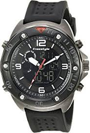 amazon com style men s fs85008 precision 2 0 classic dive ana style men s 10022921 precision 2 0 analog digital display ese quartz black watch