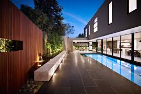 pool tile ideas pool contemporary with night lighting concrete bench bench lighting