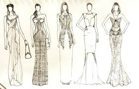 drawings fashion designs fashion designing dress sketches and wedding gowns lstore