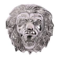 11 large life like lion wall mount aluminum faux taxidermy wall art