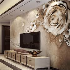 <b>beibehang Custom Photo Wallpaper</b> 3D Mural, Retro Rose Lace ...