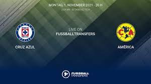 Cruz Azul vs América 16. Spieltag Liga ...