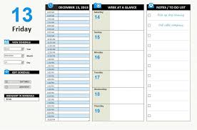 Daily Homeschool Schedule Template Daily Schedule Template Excel