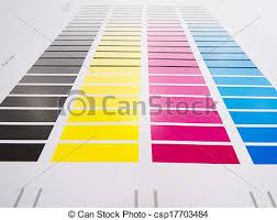 Printing Colour Chart Colour Chart