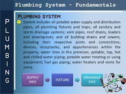 Presentation plumbing