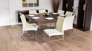 dining aria espresso dark wood and glass square dining table 8 within 85 surprising square table for 8