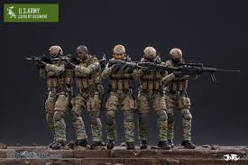 Us Army Cavalry 1 18 Scale Us Army Cavalry Regiment Set Of 5 Preorder Now