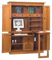 armoire office desk. amish petite mission computer armoire office desk o