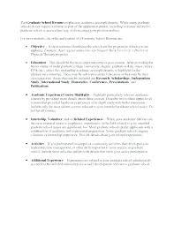 Graduate School Resume Template Microsoft Word Sample Word College Student Resume Format Graduate School