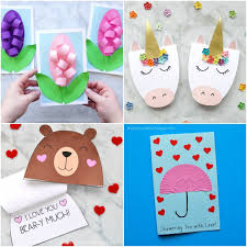 Mother Day Card 10 Adorable Mothers Day Card Ideas Kids Can Make I Heart Crafty