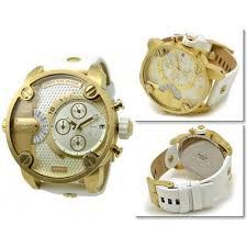 diesel dz7273 little daddy gold chronograph leather strap men s diesel dz7273 little daddy gold chronograph leather strap men s watch