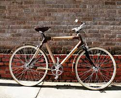 this bamboo bicycle kit comes to you in the mail