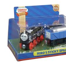 fisher thomas the train wooden railway hiro s sticky spill bdg19