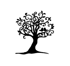 love birds in tree clipart. Delighful Tree In Love Birds Tree Clipart