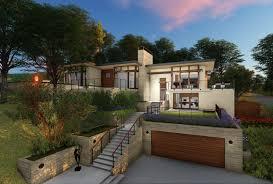 Steep Hillside Home Designs Modern Hillside House Garage Hillside House Cabin House