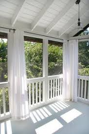 outdoor porch curtains. Back Porch With Curtains...would Be Great To Block A Setting Sun Or As Misquito Blocker Outdoor Curtains L