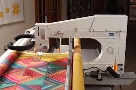 Lenni longarm quilting machine | APQS & Lenni Side of Machine Adamdwight.com